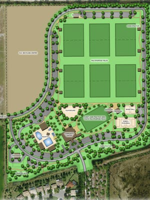 Image rendering of the first phase of the Big Corkscrew Island Regional Park.