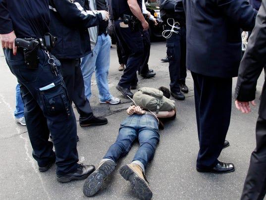 AP Arrest Rates Study