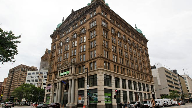 Downtown Milwaukee's Germania Building in summer began providing a mix of market-rate apartments and affordable units. A proposed Milwaukee ordinance would force new downtown area developments to set aside 10% of their apartments at below-market rents.