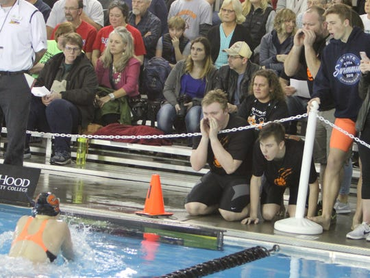 Silverton's Marie Tolmachoff competes in the 200 medley