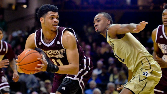 Mississippi State guard Quinndary Weatherspoon hit the game-winning three to lift the Bulldogs to a 59-56 victory over Jacksonville State on Sunday.