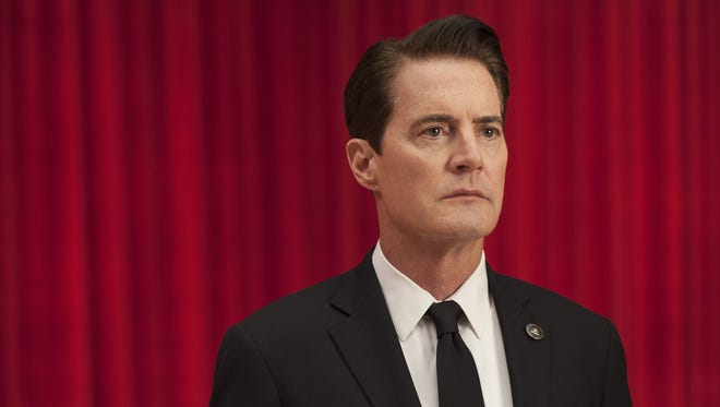 "FBI Agent Dale Cooper (Kyle MacLachlan) is back in Showtime's revival of the David Lynch-Mark Frost classic ""Twin Peaks."""