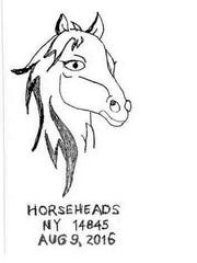 The Horseheads Post Office offered this special pictorial