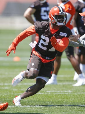 Jabrill Peppers' role with the Browns is to be determined.