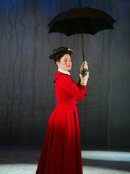 "Laura Michelle Kelly, star of Broadway's ""Mary Poppins"""