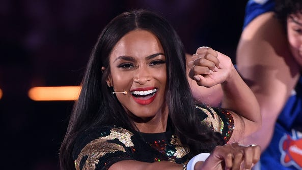 Ciara performs onstage at the Nickelodeon Kids' Choice