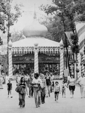 1977: The Carousel is shown.