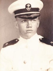 Harold DeMoss, a David Lipscomb High School graduate, was just 19 when he enlisted in the Navy.