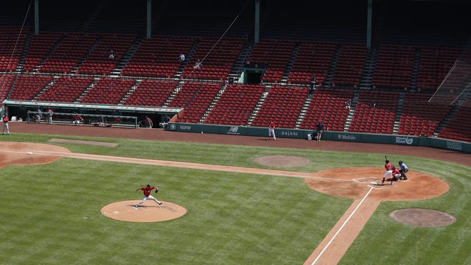 Fenway Park should have a bit of a different look for the July 24 opener against the Orioles, as the team eyes changes to the dugouts and more.