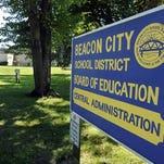 Beacon City School District sign