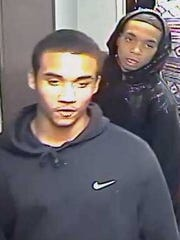 MSU police have released new photos of suspects wanted in a September apartment robbery.
