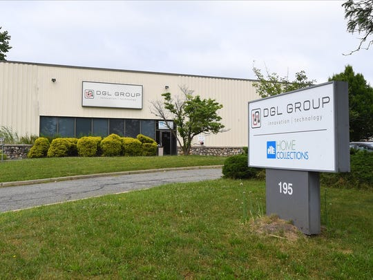 DGL Group, a company that Apple alleged was part of an import trail for counterfeits of the tech giant's charging cords and power adapters, has offices in Edison, N.J., above, as well as in Shenzhen, China.
