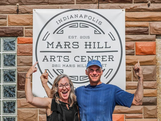 A new Mars Hill Art Center is on the verge of opening in the Indianapolis Neighborhood.
