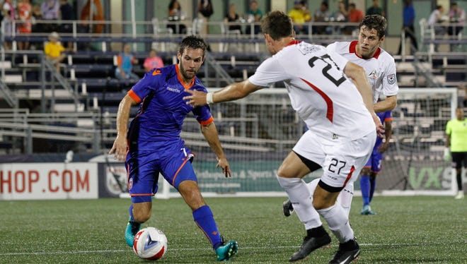 Former IU star Dylan Mares played a key role in Miami FC's win over Indy Eleven on Saturday.