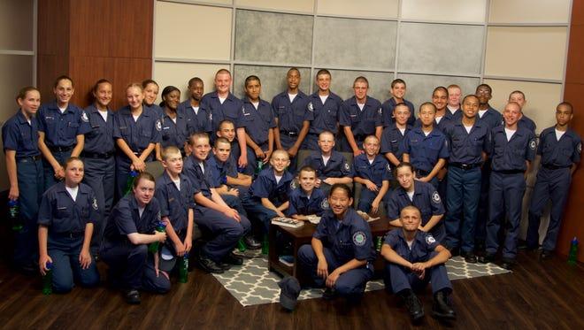 Junior Police Academy Cadets