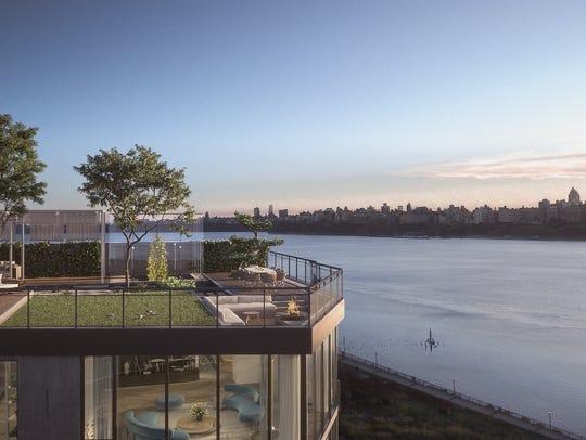 Across the river, Nine on the Hudson residents build