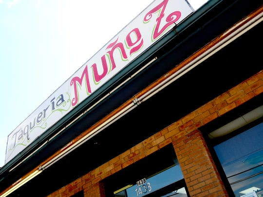 Taqueria Munoz in West Asheville serves up order-at-the-counter Mexican food 10am to 9pm seven days a week.