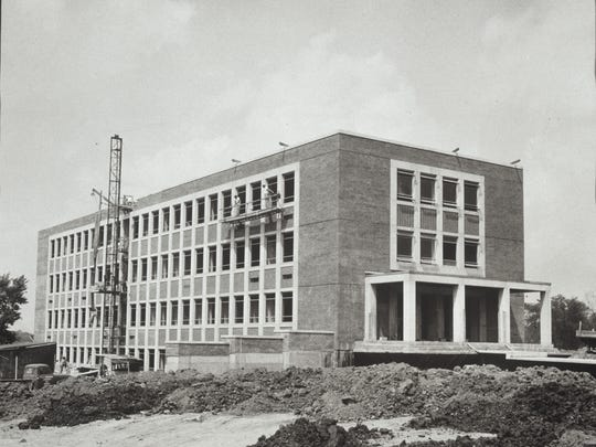 Hargreaves Music Building at Ball State is shown under