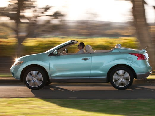Nissan is dropping its Murano CrossCabriolet from the lineup for 2015. The model, first introduced in 2011, never caught on with buyers