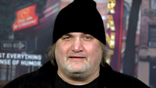 """FILE - In this Feb. 15, 2017 file photo, Artie Lange attends the LA Premiere of """"Crashing"""" in Los Angeles. Hoboken police spokesman Sgt. Edgardo Cruz told the NJ Advance Media  that 49-year-old comedian was arrested on Sunday, March 12, after allegedly being found with drugs in the parking garage of his building."""