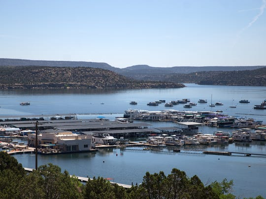 Boats entering the waters of Navajo Lake are carefully inspected for invasive aquatic species and, when necessary, they are decontaminated.