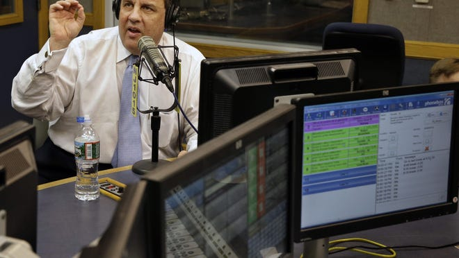 Gov. Chris Christie told a radio audience Wednesday that he will reveal ideas to cut property taxes sometime this spring.