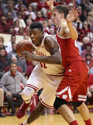 Thomas Bryant is the Big Ten's reigning freshman of the week.