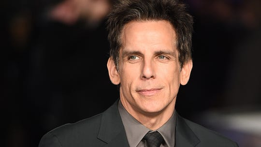 Actor Ben Stiller is just another hometown fan who