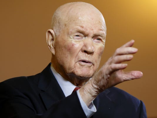 John Glenn Hospitalized