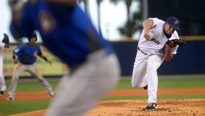 The Blue Wahoos' Sal Romano, honored Monday as the Southern League pitcher of the week, has been the team's top pitcher in the second half of the season.