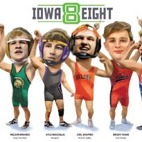 State wrestling: How did the Iowa Eight do during the 2017-18 wrestling season?