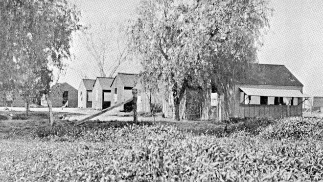 When boys of the wealthiest parents in the country attended the Evans School, they were each housed in an austere, open-sided tent-house, which they maintained.