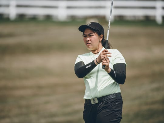 Purdue's Inez Wanamarta was named Big Ten Freshman of the Year. She's posted 12 rounds of par or better to set a program freshman record