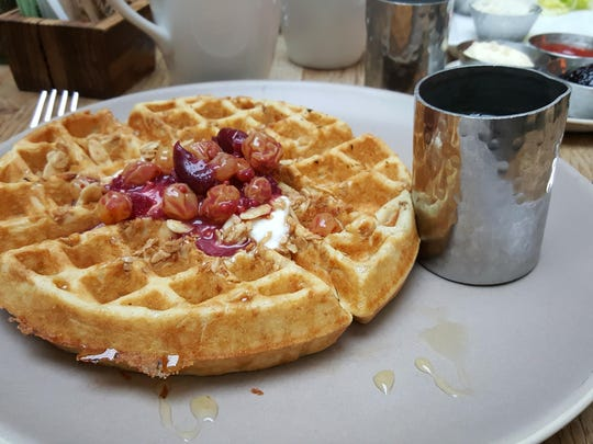 Delicious breakfasts are on the menu at Urban Farmer.