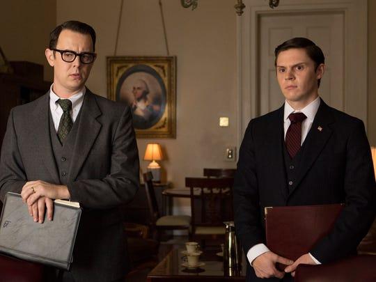 Colin Hanks stars as Egil Krogh (left) and Evan Peters
