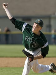 Southside's Brad Bellinger pitches against EFA in 2010.