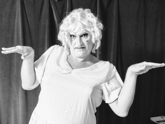 """Lab Theater's """"Whatever Happened to Baby Jane: A Parody of the Horror"""""""