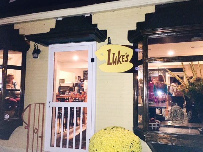 """""""Gilmore Girls"""" fans flocked to Brew Crumberland's"""