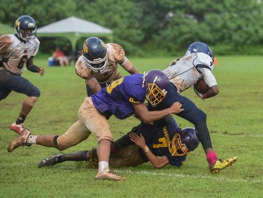 The George Washington Geckos took on the Guam High