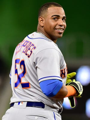 New York Mets center fielder Yoenis Cespedes said he'd like to finish his career with the Oakland Athletics.