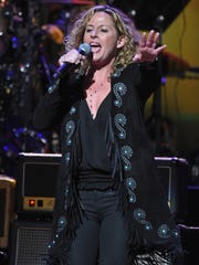 Singer Amy Helm performs at the Beacon Theatre last year in New York City.