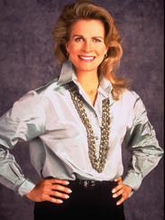 Murphy Brown played by Candice Bergen.
