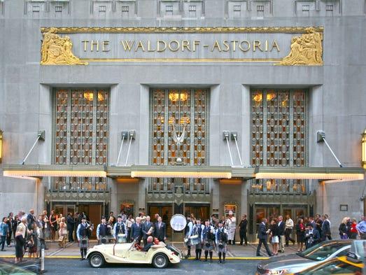 The Waldorf Astoria New York will undergo a multi-million