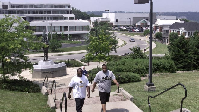A view of the campus at Kentucky State University in Frankfort.