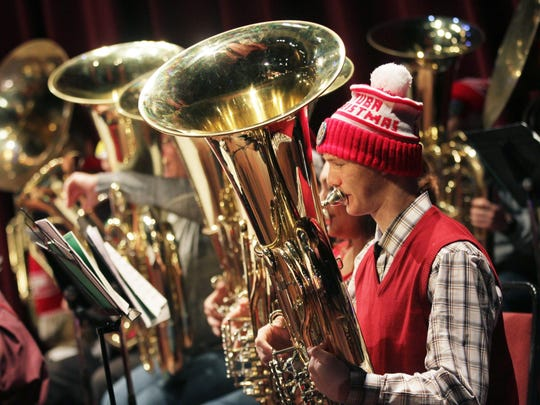 Salem Tuba Holiday will return to the Elsinore Theatre Tuesday, Dec. 24.