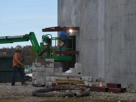 Flippin school construction