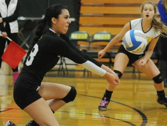 Junior Haley Qasawa is an all-round player and one of North Farmington's team leaders.