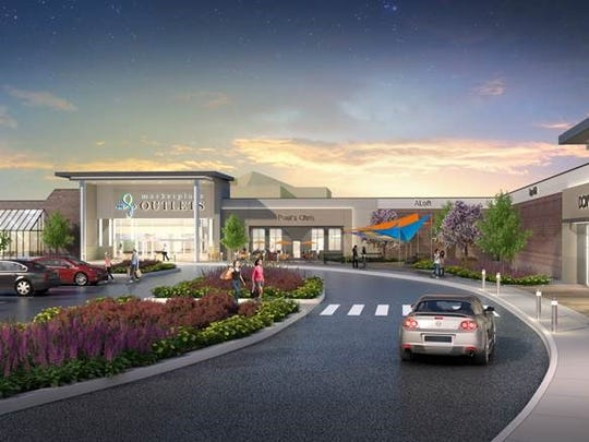Plans to convert Marketplace Mall into Marketplace Outlets.