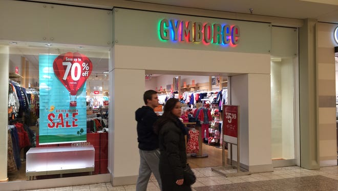 Gymboree plans to close Jan. 25 in the Fox River Mall in Grand Chute.