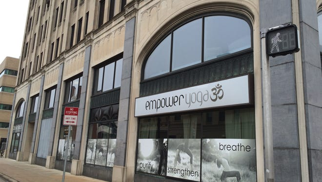 Empower Yoga and Inspire Spa have taken more space in the Zuelke Building in downtown Appleton. Inspire Spa is on the second floor, above Empower Yoga.